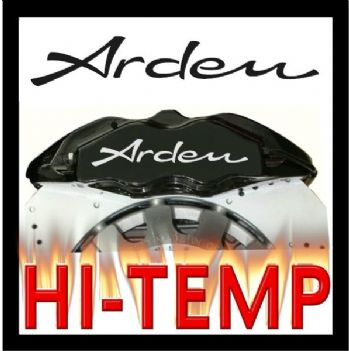 Arden Brake Caliper Decals / Stickers / Graphics Set